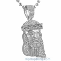 Rhodium Iced Out Pendants