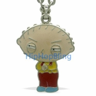 Stewie Plotting Family Guy Officially Licensed Pendant