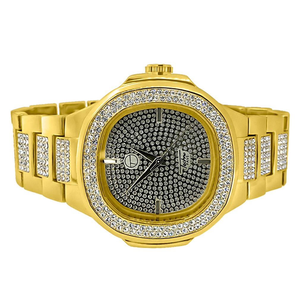 Techno Pave Watches Hip Hop Watches