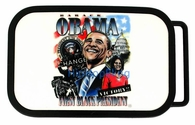 The First Black President - Barack Obama Belt Buckle