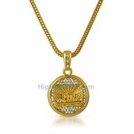 The Last Supper Gold Pendant & Chain Small