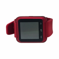 Touch Screen Red Smart Watch