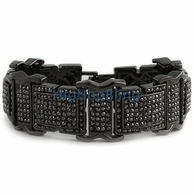 Ultimate Bling Bling Black Bracelet