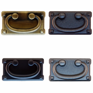 """Mission Style Drawer Pull-3""""      4 Different Finishes"""