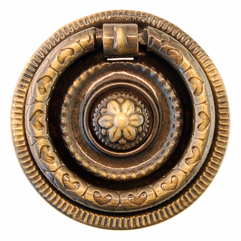 Antique Brass Ring Pull