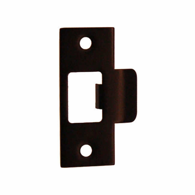 "ARC16ORB-Door Strike Plate-""T"" Style<br>Oil Rubbed Bronze Finish"