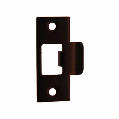 """ARC16ORB-Door Strike Plate-""""T"""" Style<br>Oil Rubbed Bronze Finish"""