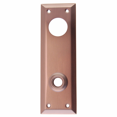 ARC31BN-Backplate with Bevelled Edge, Brushed Nickel Finish