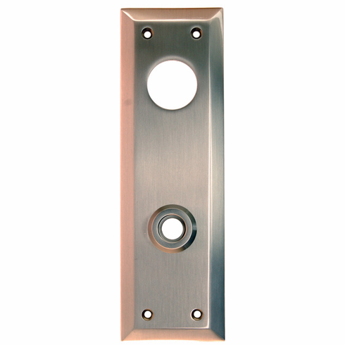 ARC32BN-Backplate with Bevelled Edge, Brushed Nickel Finish