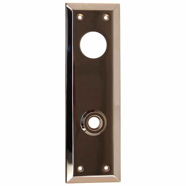 ARC32N-Backplate with Bevelled Edge, Nickel Finish
