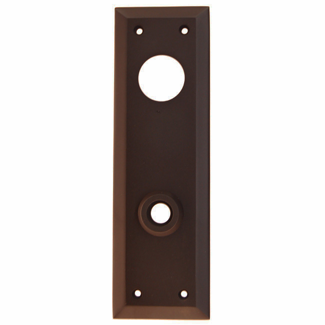 ARC32ORB-Backplate with Bevelled Edge, Oil Rubbed Bronze Finish