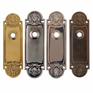 Regency Style Door Trim Plate