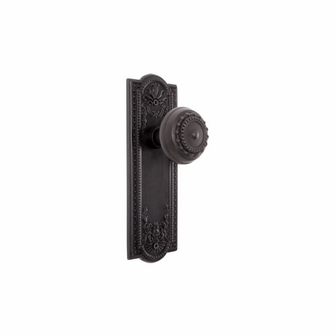 ARC56ORB-Meadows Backplate and Meadows Knob, Passage, Oil Rubbed Bronze