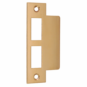 """ARC64- Strike Plate for 2 1/4"""" Doors, 5 Finishes"""