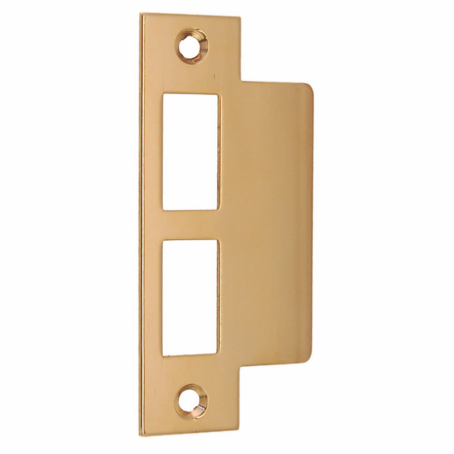 ARC64PL- Strike Plate, Polished Lacquered Brass