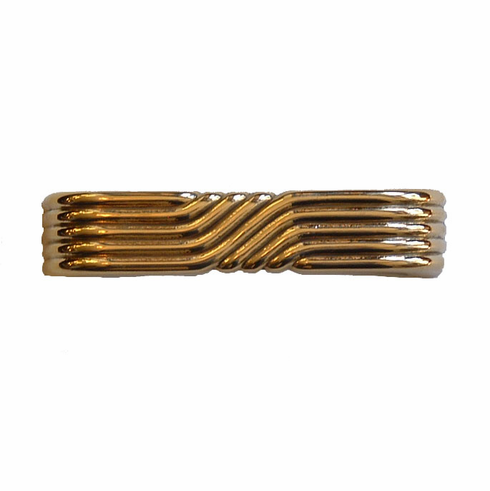 Art Deco Handle-Brass-3 1/2""