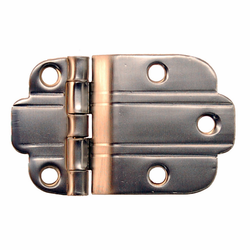 Art Deco Offset Hinge - BRASS