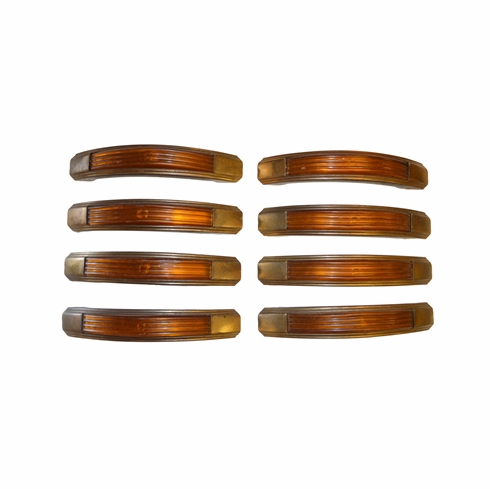 Authentic 1920-1940's Waterfall Handles