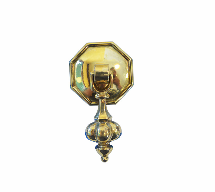 Small Round Pendant w/Octagon Back Plate