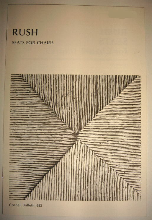 Book:  Rush Seats for Chairs