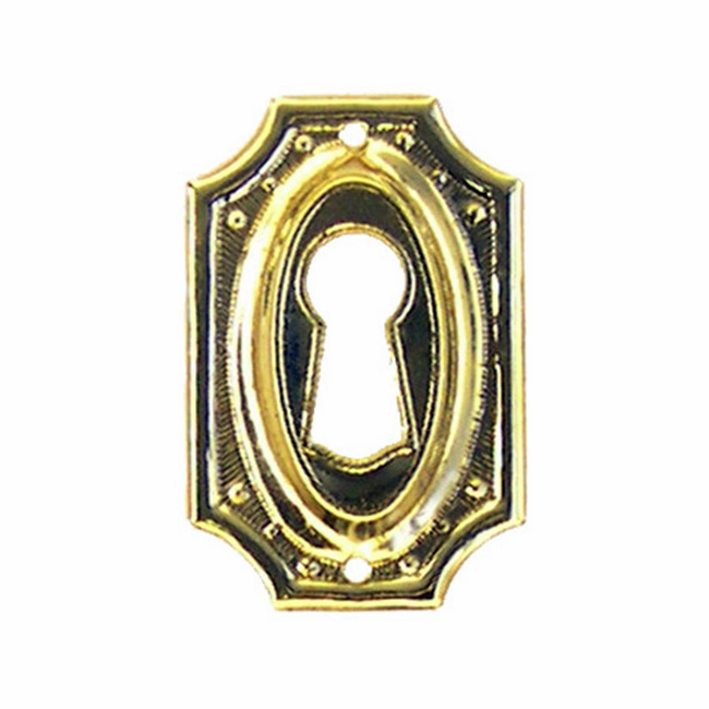 Brass Keyhole Cover