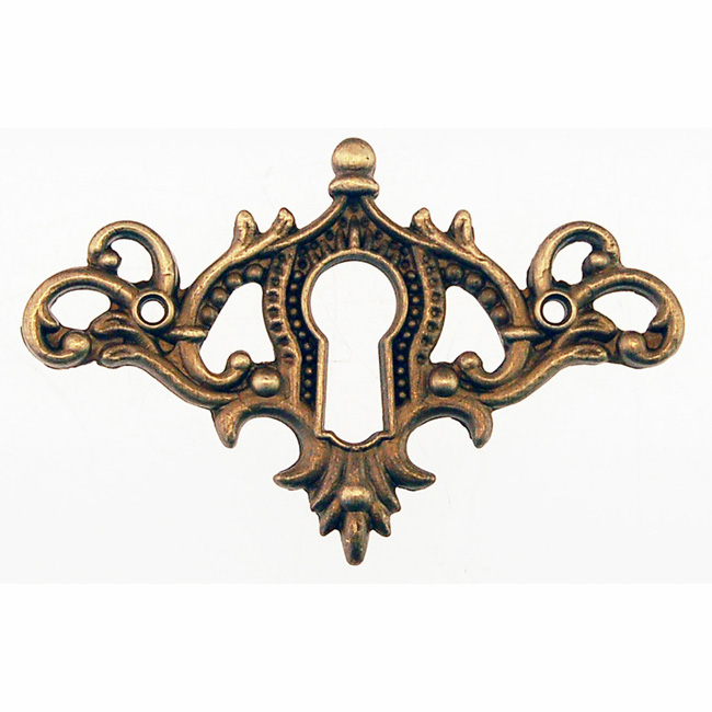 Brass Keyhole Covers