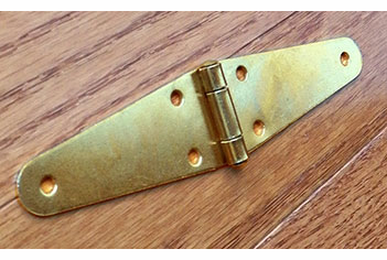 Brass Planted Trunk Hinge