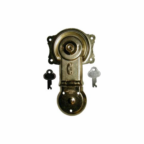 Brass Plated Trunk Lock
