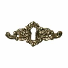 C10- Cast Brass Keyhole Cover