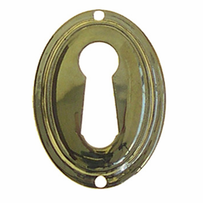 C11b-Stamped Brass Keyhole Cover