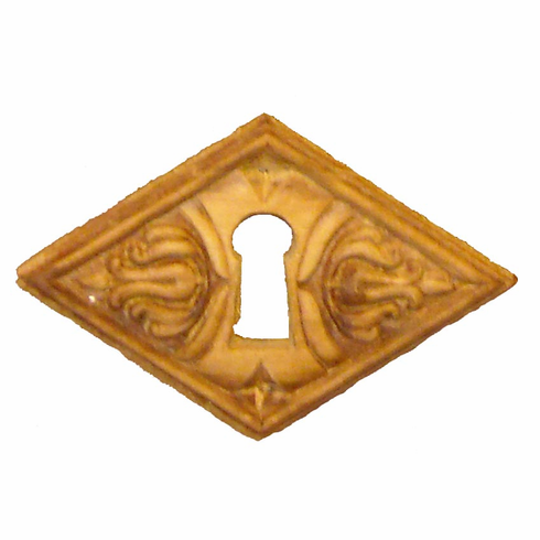 C31ch- <BR><B>Embossed Keyhole Cover, Cherry