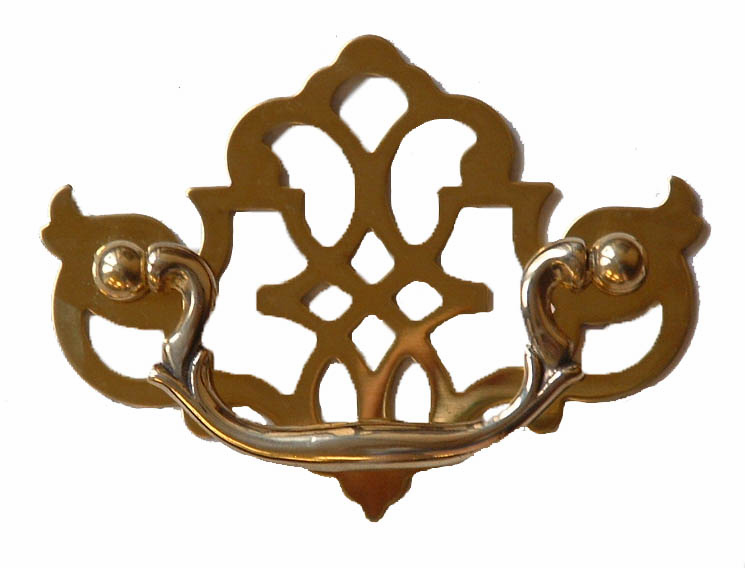 Chippendale Drawer Pull-3""
