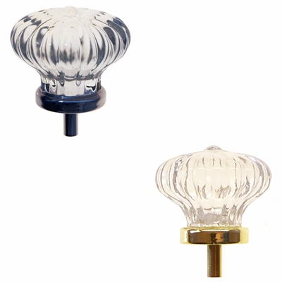 Colonial Style Glass Knob