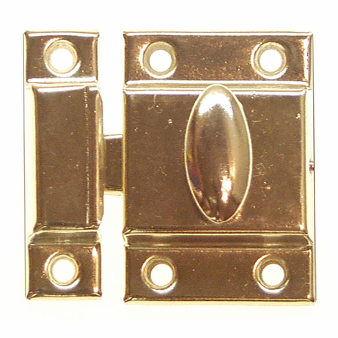 Cupboard Latch - Brass