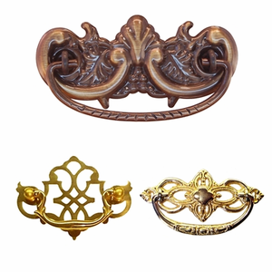 Drawer Pulls with Backplates