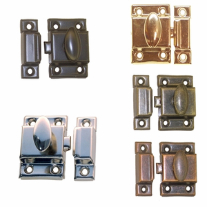 "Cupboard Latches 1 7/8""<BR><B> 5 Finish Options"