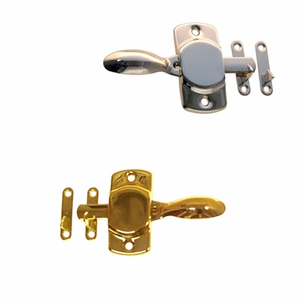 "Cabinet Latch 3 7/8""<BR>2 Finish Options"