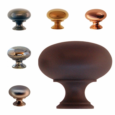 Elegant pedestal shaped knob - 1""