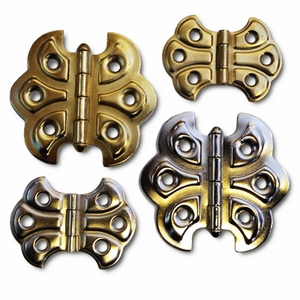 Embossed Butterfly Hinges