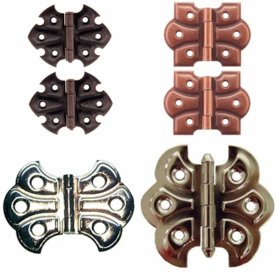 Embossed Ornamental Hinges