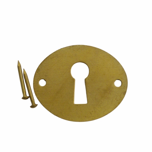 Flat Oval Keyhole Cover
