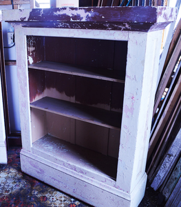 Formerly Built-in Bookcases