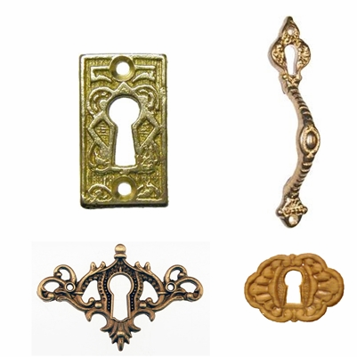 Keyhole Covers, Inserts & Handles