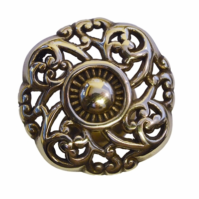 Knotted Victorian Knob  - 1.5""