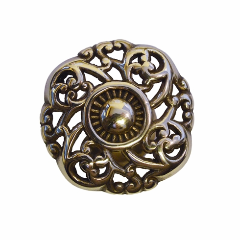 """Knotted Victorian Knob  - 1.5"""""""