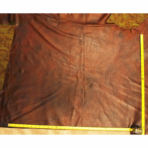 """L-10: Oxblood, 22"""" x 31"""" and 18"""" x 35"""""""
