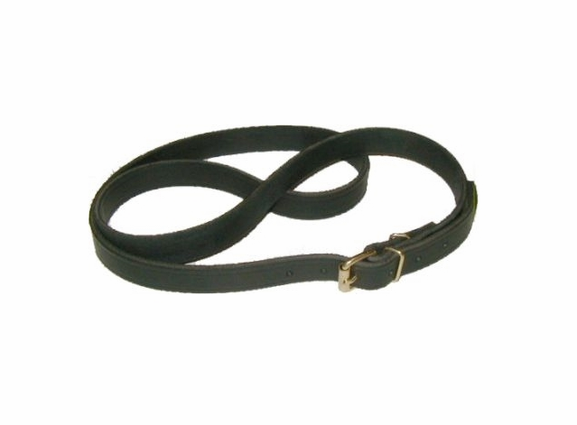Leather Trunk Strap - Black