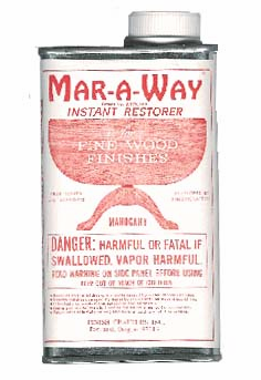 Mar-a-way: Mahogany, quart