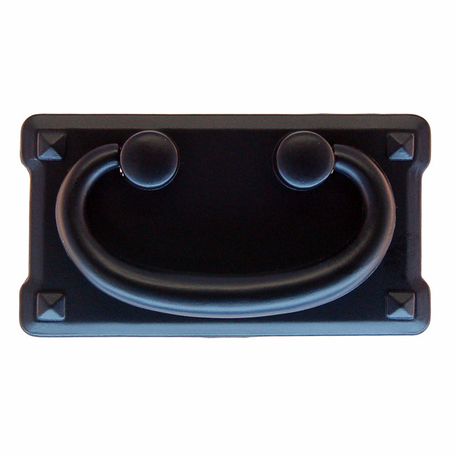 """Mission Style Drawer Pull-3"""" Flat Black"""
