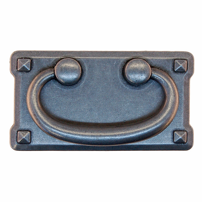 """Mission Style Drawer Pull-3"""" Pewter"""